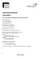 Eduqas GCSE English Language Component 1 - Practice Examination Papers.
