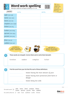 Adding -er and -est to adjectives - Spelling Worksheet - Year 4 Spag ...