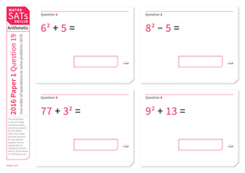 order of operations with addition and subtraction  ks maths sats  apqworksheetpdf