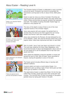 About Easter Information Book - Reading Level A -  Easter KS1/KS2
