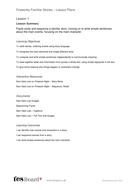 Lessons Plans - Story Writing - Bonfire Night KS1