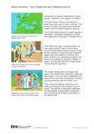 Hanukkah Text, Images and Quiz - Reading Level A - Hanukkah KS1