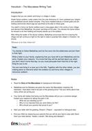 The Maccabees Writing Task - Hanukkah KS2