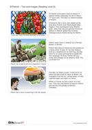 St Patrick Information Book - Reading Level A -  St Patrick's Day KS1