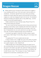 Dragon Rescue - Text and Questions Exercise - Year 4 Reading Comprehension (Fiction)