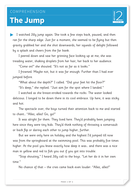 The Jump - Text and Questions Exercise - Year 4 Reading Comprehension (Fiction)