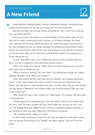 A New Friend - Text and Questions Exercise - Year 5 Reading Comprehension (Fiction)