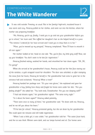 The White Wanderer - Text and Questions Exercise - Year 4 Reading Comprehension (Fiction)
