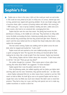 Sophie's Fox - Text and Questions Exercise - Year 5 Reading Comprehension (Fiction)