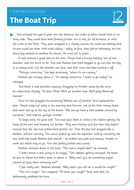The Boat Trip - Text and Questions Exercise - Year 5 Reading Comprehension (Fiction)