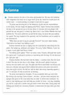 Arianna - Text and Questions Exercise - Year 6 Reading Comprehension (Fiction)