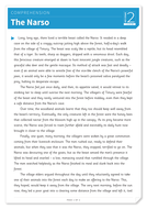 The Narso - Text and Questions Exercise - Year 6 Reading Comprehension (Fiction)