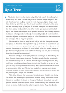 Up a Tree - Text and Questions Exercise - Year 6 Reading Comprehension (Fiction)