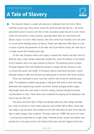 A Tale of Slavery - Text and Questions Exercise - Year 4 Reading Comprehension (Non-fiction)