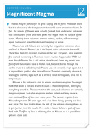Magnificent Magma -Text and Questions Exercise - Year 5 Reading Comprehension (Non-fiction)