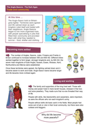 Trade and Community - Worksheet - Anglo-Saxon Britain KS2