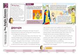 The Rise of Christianity - Comprehension Worksheet - Anglo-Saxon Britain KS2