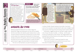 Crime and Punishment - Comprehension Worksheet - Anglo-Saxon Britain KS2