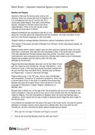 Barates - Profile and Writing Task - Black History in Britain KS2