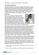 Black-Britain---Significant-Figures-Nola-Ishmael.doc