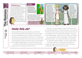 Religion - Comprehension Worksheet - Roman Britain KS2