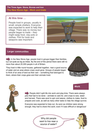 Work and Trade - Worksheet - The Stone Age KS2