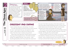 Trade and Culture - Comprehension Worksheet - The Iron Age KS2