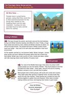 The Middle Stone Age: Everyday Life - Worksheet - The Stone Age KS2