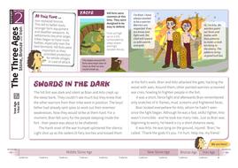 Tribal Life - Comprehension Worksheet - The Iron Age KS2