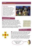 The Great Heathen Army - Worksheet - The Vikings KS2