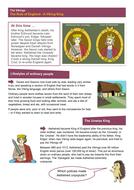 A Viking King - Worksheet - The Vikings KS2