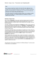 Types of War Presentation Activity - The World Wars KS2