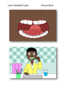 Leon's Wobbly Tooth Picture Bank - PSHE KS1