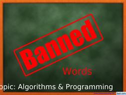 GCSE---Banned-Words---Algorithms---Programming.ppt