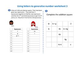Using-letters-to-generalise-number-worksheet-3.pdf