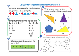 Using-letters-to-generalise-numbers-worksheet-4.pdf