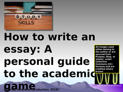 Study Skills How To Write And Reference An Academic Essay By Amac  Study Skills How To Write And Reference An Academic Essay