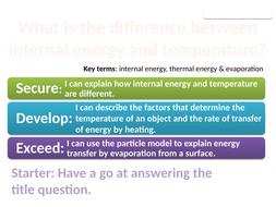 8Ka Temperature changes (Exploring Science)