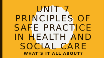 principles of health and social care practice