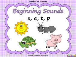 Beginning-Sounds---s--a--t--p.ppt