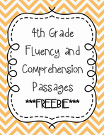 4th Grade Fluency Passages with Comprehension Questions