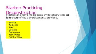 2 - Advertising and Deconstruction.pptx