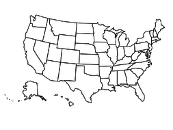 Blank USA Map by sfy773 | Teaching Resources