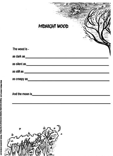 Midnight Wood - Poetry Frame: Ys 3-5