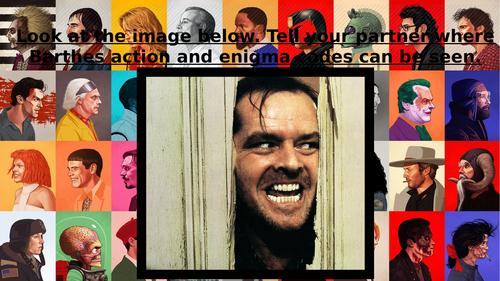 Eduqas GCSE (9-1) Film Studies introductory unit (horror genre) cinematography for comp 3. Lesson 8