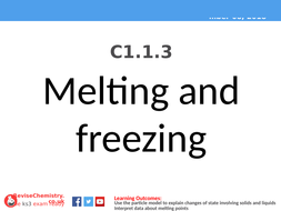 KS3 C1.1.3 Melting and freezing.pptx