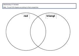 Name and compare 2d shapes by michaelfoskett teaching resources tes 2d shape venn diagramcx ccuart Choice Image