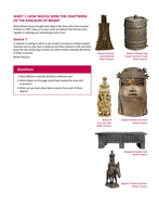 How can artefacts teach us about African civilizations?