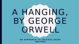 a hanging essay