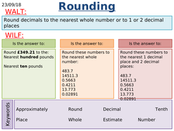 KS2/KS3 Maths: Rounding to the Nearest Given Decimal Place